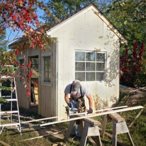 How To Turn A Shed Into A Backyard Hangout