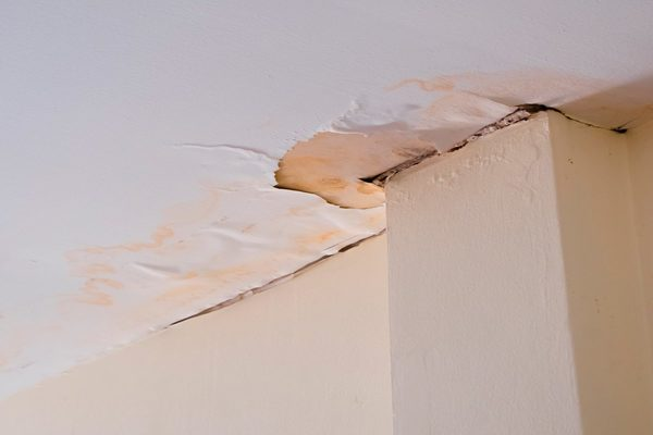 How To Repair a Water Damaged Ceiling?